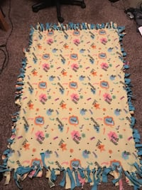 Kids Fleece Tied Blanket
