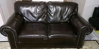 Dark brown 2 seats sofa Montreal