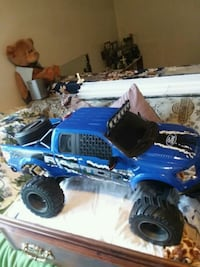 blue and black RC monster truck Fairfax, 22032