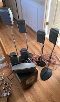 7.1 JBL surround sound system **price negotiable**