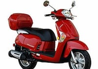 red and black motor scooter Mount Dora, 32757