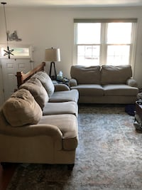 Taupe Sofa and Loveseat Alexandria, 22304