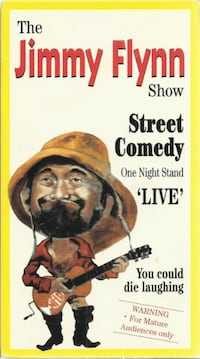 "vhs The JIMMY FLYNN Show  Street Comedy One Night Stand ""Live""   very"