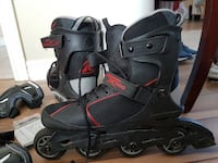 "Men's Roller Blades Red/Black ""Fire Fly X500"" Barrie"