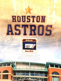 Houston Astros   Limited Additon Wall Mount San Antonio