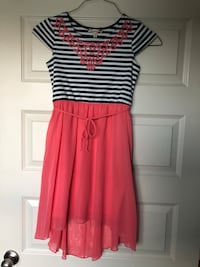 Girls Speechless Short Sleeve Dress Size Large