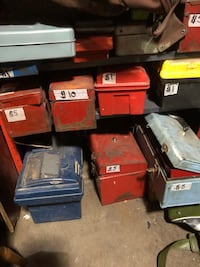 Tool Boxes $1-$10 gr8 for movie prop New Westminster, V3M