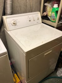 white front-load clothes dryer East Northport