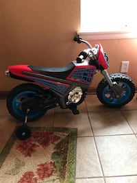 Kids Electric Spider-Man Motorcycle  577 mi