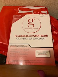 GMAT books. Entire Manhattan GMAT collection Los Angeles, 91601