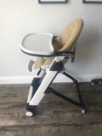 Peg Perego Siesta High Chair Little Elm, 75068