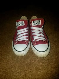 pair of red Converse All Star low-top sneakers Edmonton, T5T