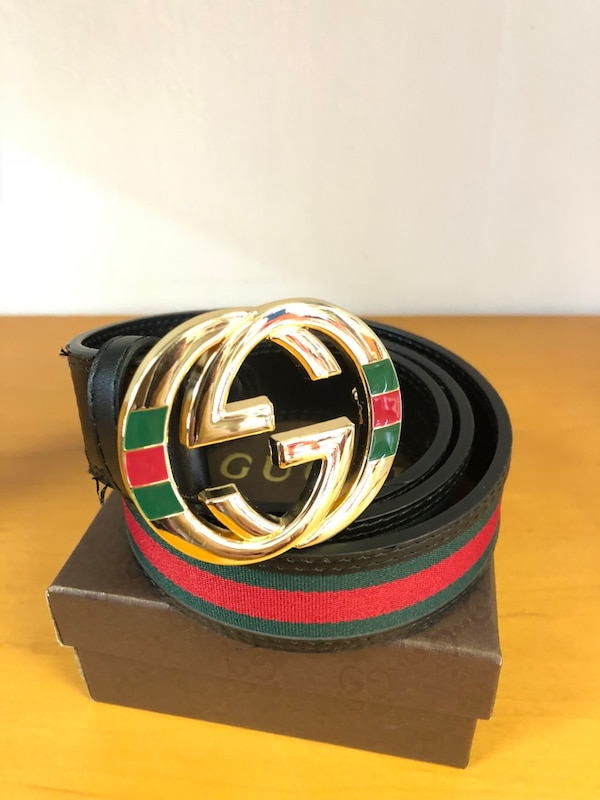 5b1cdd1b797 Used black and red Gucci belt for sale in Tampa - letgo