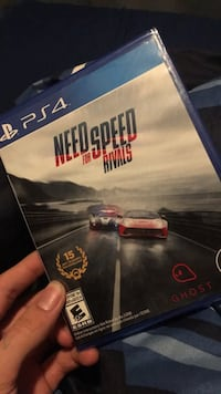 Need for speed rivals ps4 game case Yakima, 98903