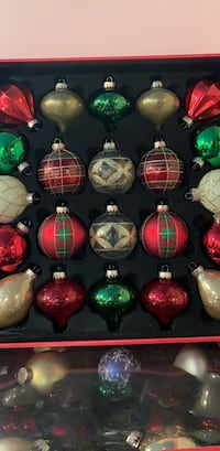 Holiday Glass Christmas Ornaments Collection $20 Weslaco, 78596
