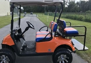 2/0/1/6 E-Z-GO Freedom RXV Electric Golf Cart for sale! -