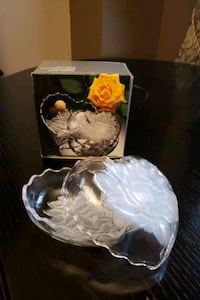 Glass heart box
