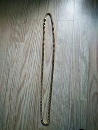 Gold stainless steal chain-link necklace Goffstown, 03045