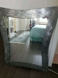 rectangular modern art Metal framed mirror Richmond Hill, L4E 4K3