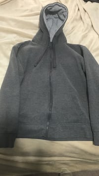 gray zip-up hoodie Vaughan, L4K 2K6