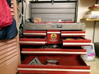 Craftsman tool box with assosort tools North Fort Myers, 33903