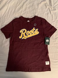 Roots kids T-shirt Size M (Brand New) cloth, clothing