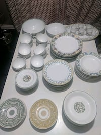 Hermes Plates and Cup Set