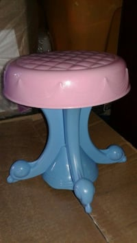 baby's blue and white high chair Garden Grove, 92840