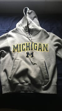gray Michigan pull over hoodie Melrose Park, 60160