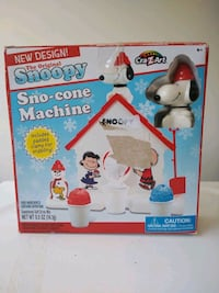 Snoopy Snow Cone Machine Chattanooga