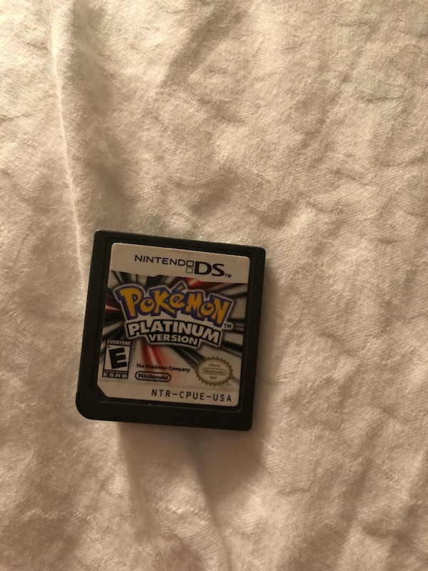 Pokemon Moon Nintendo 3DS game cartridge