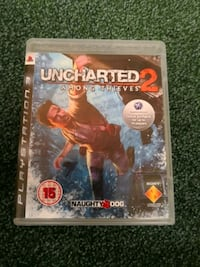 Uncharted 3 PS3 game case Londonas, SW1A 2BA