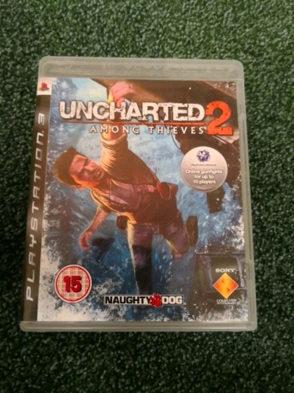 Uncharted 3 PS3 game case
