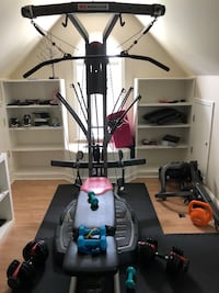 black and gray exercise equipment Clayton, 27527