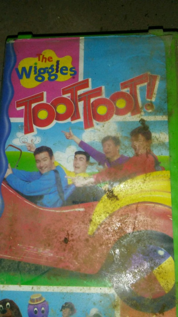 The Wiggles Toot Toot box