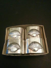 Silver plated napkin rings Vaughan, L6A 3P3