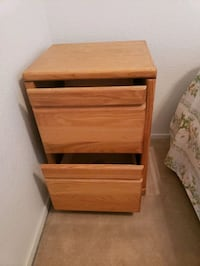Wood File cabinet