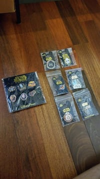Star Wars Collectable Pins