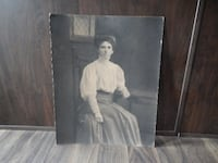 "Victorian Large Photograph 20"" x 16"" on cardstock. Morinville"