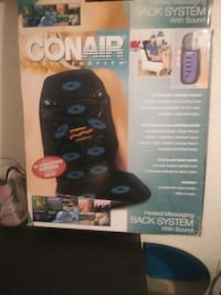 conair massage heat and sounds.