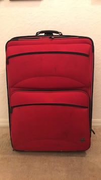 red and black luggage bag Miami, 33196