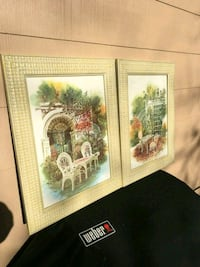 2 framed matching prints framed art work Manchester Township, 08759