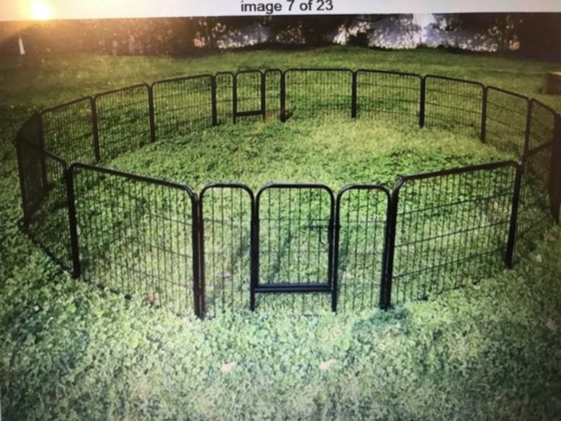 NEW!! Dog Fence - Heavy duty Panels - Indoor and Outdoors. 73c82cac-fd4e-41fb-9986-9107a319fbcc