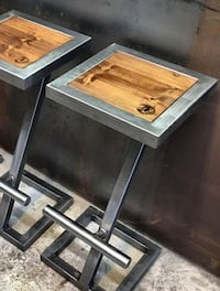 Custom metal and wood furniture Oklahoma City, 73160