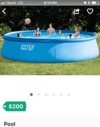 blue and white inflatable pool Saint Peters, 63376