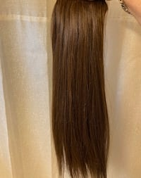 Hair extensions (Brown) by Yellooww