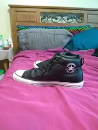 pair of black Converse All Star high top sneakers Middletown, 06457