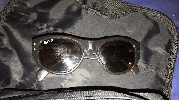 d955c0c90a Used Black framed ray-ban sunglasses for sale in Broken Arrow - letgo