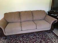 Fancy Living room set coach and love seat only.