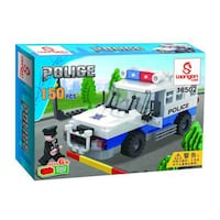 Building Blocks Set - Police SWAT - 150 Pieces Vaughan